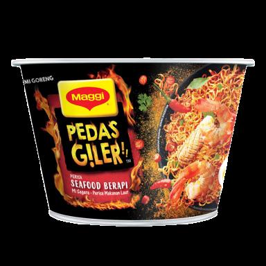 MAGGI® Pedas Giler Seafood Berapi Mangkuk